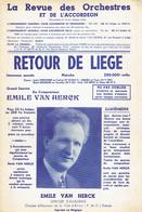 Retour De Liège, Marche (d'Emile Van Herck, Citoyen D'honneur De La Ville D'Avion) - Musique & Instruments