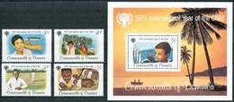 1979 Dominica Infanzia Childhood Enfance MNH** Ye16 - Dominica (1978-...)