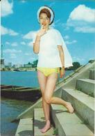 Pin-Ups,Girl,maillot De Bain,beach - Pin-Ups