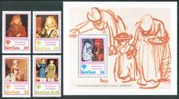 1979 St,Lucia Infanzia Childhood Enfance MNH** Ye19 - St.Lucia (1979-...)