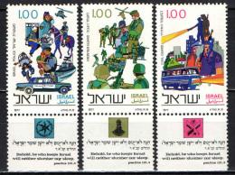 ISRAELE - 1977 - Israel Police Force, Established Mar. 26, 1948.- MNH - Israele