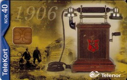 TARJETA TELEFONICA DE NORUEGA. N-165 (094) TELEFONOS - Noruega