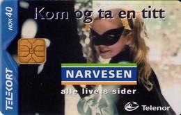 TARJETA TELEFONICA DE NORUEGA. N-188 (095) - Noruega