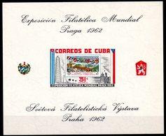 CUBA - YT BF N° 22 - Neuf ** - MNH - Cote: 12,00 € - Blocks & Sheetlets