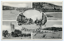 GREETINGS FROM BURNTISLAND : MULTIVIEW - Fife