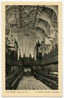 WINDSOR : ST. GEORGE'S CHAPEL - THE QUIRE FROM THE EAST (TUCKS) - Windsor Castle