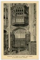 WINDSOR : ST. GEORGE'S CHAPEL - EDWARD IV'S TOMB AND HENRY VIII'S ORIEL (TUCKS) - Windsor Castle