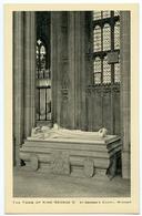 WINDSOR : ST. GEORGE'S CHAPEL - THE TOMB OF KING GEORGE V (TUCKS) - Windsor Castle