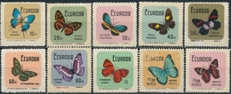 Ecuador  Butterflies - Vlinders