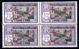 INDE - YT N° 166 X4 - Neufs ** - MNH - Cote: 17,00 € - Indien (1892-1954)