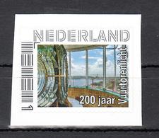 Nederland Persoonlijke Zegel 2018 200 Jaar Vuurtoren Licht West-Kapelle, Lighthouse - Vuurtorens