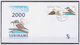 Surinam / Suriname 2000 FDC 236 IJsvogel Kingfisher Eisvogel Marin-pecheur Duck Ente Canard - Surinam