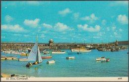 St Ives, Cornwall, C.1960s - Harvey Barton Postcard - St.Ives
