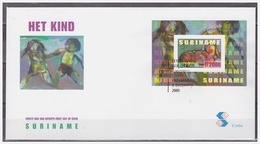 Surinam / Suriname 2000 FDC 245a Kind Child Kinder Enfent S/S - Suriname