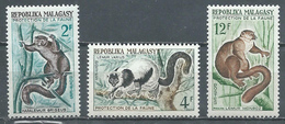 Madagascar YT N°357/359 Lémuriens Neuf ** - Madagascar (1960-...)