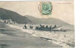 ITALIE ONEGLIA Pêcheurs - Italie
