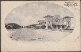 Sunset Depot, San Antonio, Texas, C.1904 - Nic Tengg U/B Postcard - San Antonio