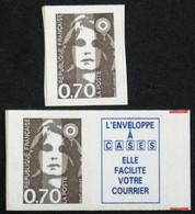 N° 2824 + 2873a Neuf N** TB Cote 28€ - 1989-96 Bicentenial Marianne