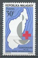 Madagascar YT N°384 Croix-Rouge Internationale Neuf ** - Madagascar (1960-...)