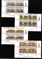 NAMIBIA, 1997, Mint Never Hinged Stamp(s), In Control Blocks, Ruins,  Michel 828-831, X199a - Namibia (1990- ...)