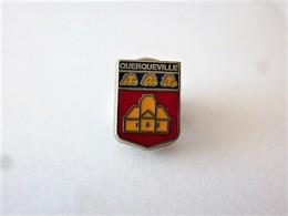 PINS VILLE QUERQUEVILLE CP 50460 MANCHE / BLASON ARMOIRIES / 33NAT - Cities