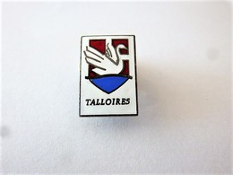 PINS VILLE TALLOIRES CP 74290 HAUTE SAVOIE / BLASON ARMOIRIES / 33NAT - Cities
