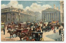 CPA - Carte Postale - Royaume-Uni - London - Bank Of England And Royal Exchange - 1907 (CP2278) - London