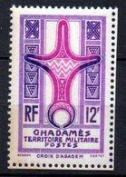 Col 8 : Guadames Neuf XX MNH N° 5 Cote 13,00 € - Ghadamès (1949)