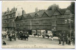 CPA - Carte Postale - Royaume-Uni - London - Staple Inn. - Old House - Holborn - 1907 (CP2281) - Other