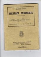 46050-MILITAIR ZAKBOEKJE 1952 + MOBILISATIE WEDEROPROEPINGSBERICHT + 2 DOCUMENTEN - Documents