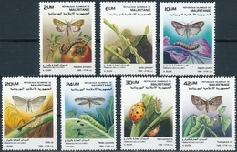 Mauritanie  Butterflies+insekten - Vlinders