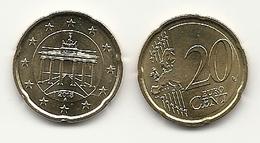 20 Cent, 2018, Prägestätte (A) Vz, Sehr Gut Erhaltene Umlaufmünze - Germany