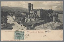 Bologna - Piazza Malpighi E Chiesa S. Francesco - Viaggiata 1908, FP - Bologna