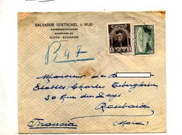 Lettre Recommandee ? Sur Velasco Andes - Ecuador