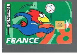 FRANCIA (FRANCE) -  1998  FOOTBALL, MASCOT                    - USED°- RIF. 10908 - France