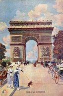 CPA PARIS - L'ARC DE TRIOMPHE - Arc De Triomphe