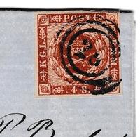 Holbaek Danemark Denmark 1862 Lettre Signée - Denemarken
