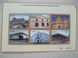 Nicaragua 1999 Cities Of Granada And Leon 475 Anniversary   I201804 - Nicaragua