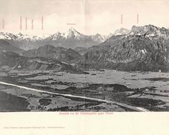 Autriche - Salzbourg Salzburg - Aussicht Von Der Gaisbergspitze Gegen Westen 1905 - Autriche