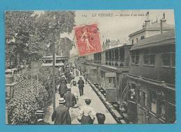 CPA114  - Chemin De Fer Arrivée Du Train En Gare - LE VESINET 78 - Le Vésinet