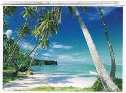 TAHITI   PLAGE  POLYNESIENNE    CPM  TBE  1O181 - Tahiti