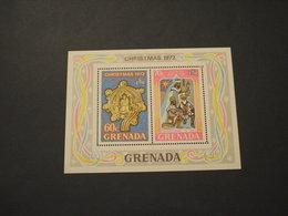 GRENADA  - BF 1972 NATALE QUADRO - NUOVI(++) - Grenada (1974-...)