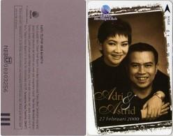 INDONESIA INDONESIEN - IND CO 39 -C 39 Wedding Of  Adri & Astrid - Februari 2000 - 1000ex. - MINT   RRR - Indonesia