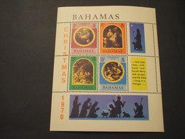 BAHAMAS  - BF 1970 NATALE QUADRI - NUOVI(++) - Bahamas (1973-...)