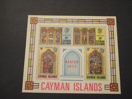 CAIMAN  - BF 1973 NATALE QUADRI - NUOVI(++) - Cayman (Isole)