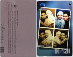 INDONESIA INDONESIEN - IND CO 43 -C 43 Wedding Of  Irma & Yasser  - Juli 2001 - 1000ex. -.- MINT   RRR - Indonesia