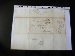LETTRE DE NOUVELLE ORLEANS POUR BORDEAUX    1831  AVEC CACHET PAYS D'OUTRE MER - 1801-1848: Precursors XIX