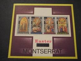 MONTSERRAT  - BF 1975 PASQUA QUADRI - NUOVI(++) - Montserrat