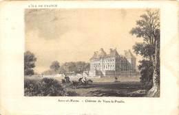CPA 77 CHATEAU DE VAUX LE VICOMTE - France