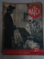 Revue MATCH 29 Décembre 1938 - Le Réveillon De La Charité - Books, Magazines, Comics